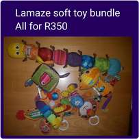 Lamaze soft toys bundle (5)