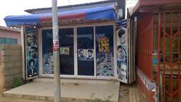 Container shop/barbering shop for sale