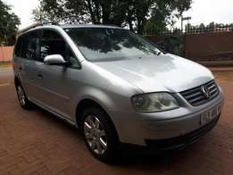 Touran 1.9tdi dsg in a great condition for sale
