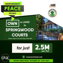 Dry plots and acres of government certified land for sale