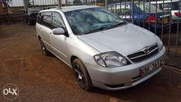 Cleanest Fielder KBK, 2003, 1500cc on quick sale for 585k