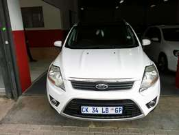 2013 Ford Kuga 2.5, Color White, Price R190,000.