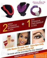 March Beadmaking classes + free makeup class