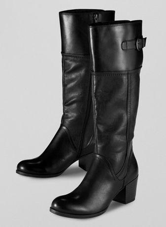 1f31609ddea67 TCHIBO kozaki damskie oficerki buty na zimę skóra modne nowe r. 41  Bydgoszcz - image
