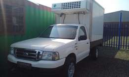 a Ford Ranger 2.5D With Refrigerator Unit 2005