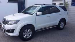 2012 Toyota Fortuner 3.0 D-4D 4x4 A/T