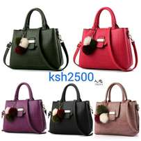 Leather mini handbags