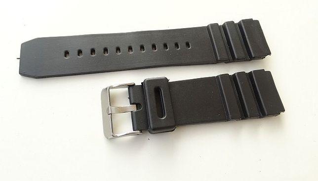 2381b739a38ebf Pasek do zegarka 22mm czarny gumowy silikonowy Poznań Grunwald • OLX.pl