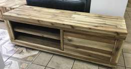 Never been used solid acacia wood plasma unit. Retails for R6999.