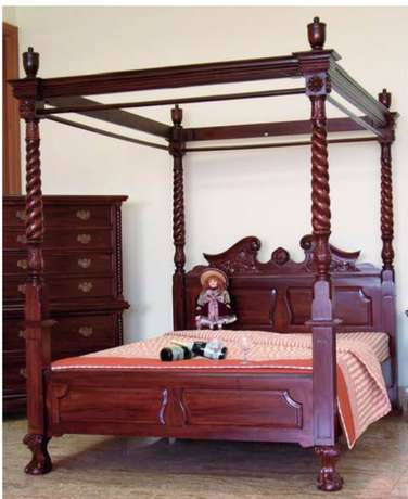 SOLD - Chippendale 4 poster bed Roodepoort - image 1