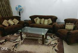 sofa set, beds, central table, solid wood dining table etc