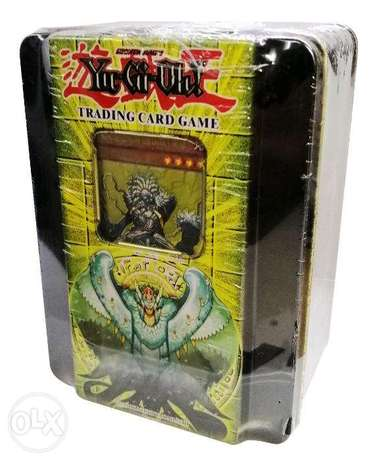 Brand New Yu-Gi-Oh Playing Cards - Black Tin Box
