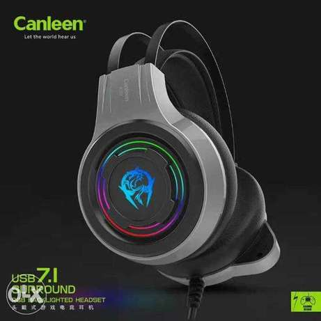 Headset USB 7.1 Surrounder With Mic (RGB)
