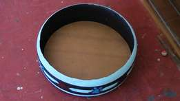 Dog tyre bed made