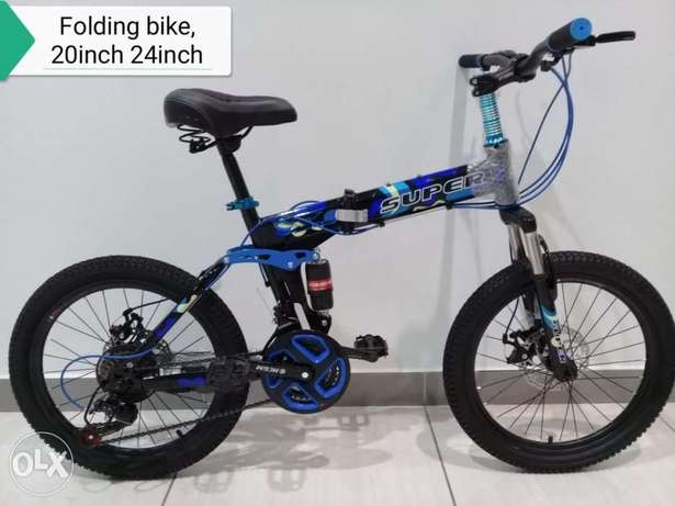 """New folded super cycle size 20 and 24"""" size (20-33BD) size (24-37BD)"""