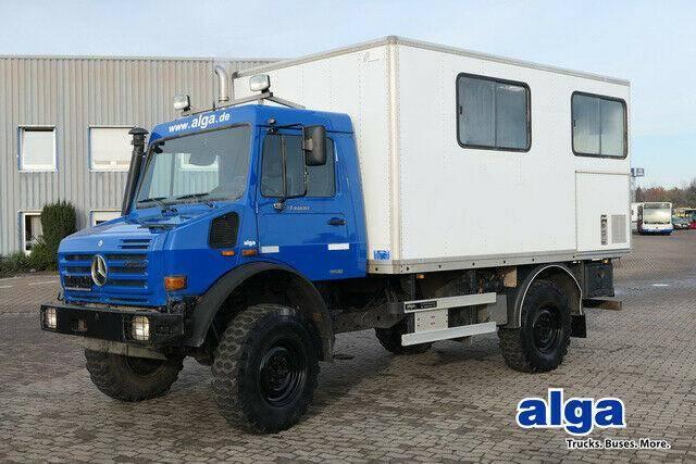 Mercedes-Benz Unimog U4000, Werkstatt, Service, AHK - 2010