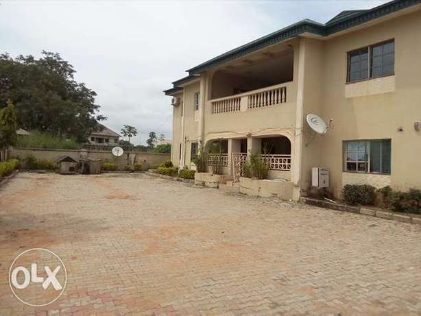 2bedroom flat to let at Kapowa by Fmr IG Police house Lugbe Lugbe - image 1