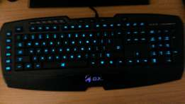(I want to swap for a gaming headset) Gaming Keyboard: Imperator Pro