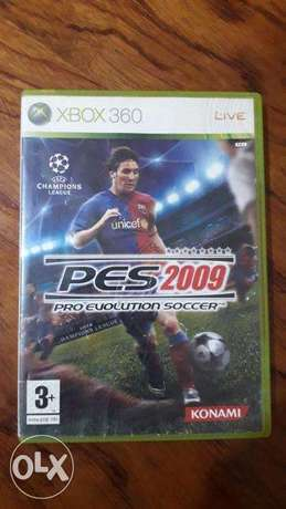 PES2009 for Xbox360