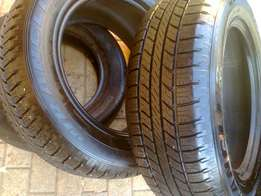 245 60R18 tyres brand new