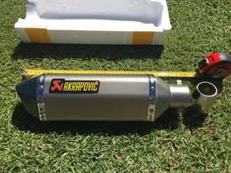 Akrapovic exhaust silencer slip on