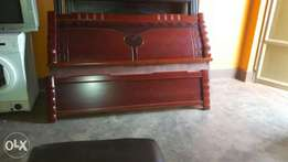 Bed for sell with bed side drawers