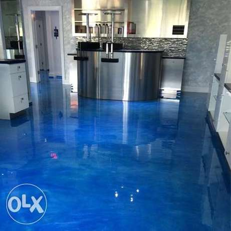 Epoxy Floor Design Painting Works