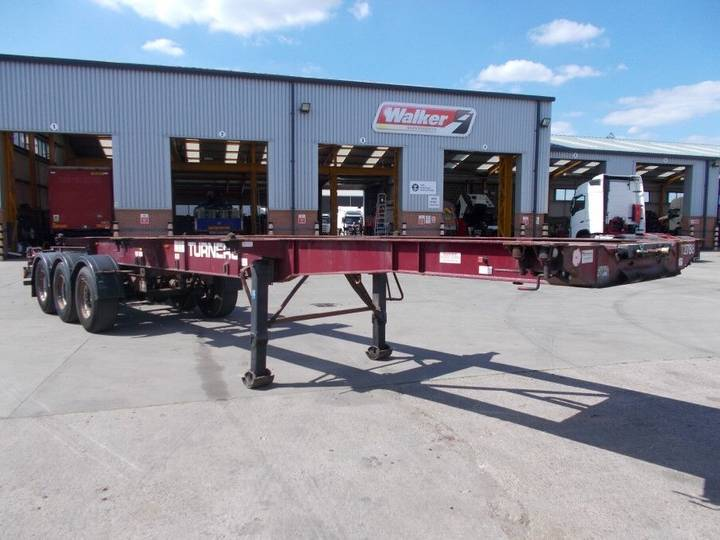 Montracon LOCK AND GO SLIDING SKELETAL TRAILER - C243282 - 2007