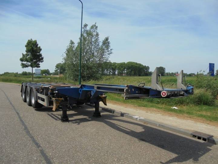 Pacton 3-Axle Chassis / Extendable / BPW / NL-Trailer / Liftaxle - 2008