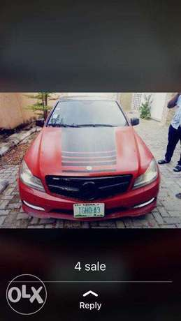 2010 C300 (Customized & Pimped Out) Lagos - image 1