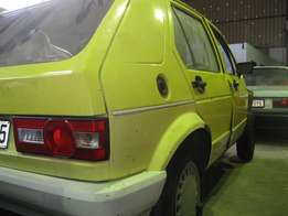 Golf mk1 1300 Carb 5spd Manual Stripping for Spares