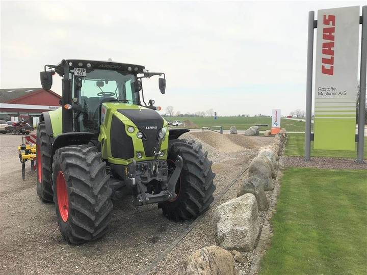 Claas Axion 830 Cmatic Demo - 2017