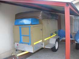 Bushtrailer for sale - great for camping and great house on wheels