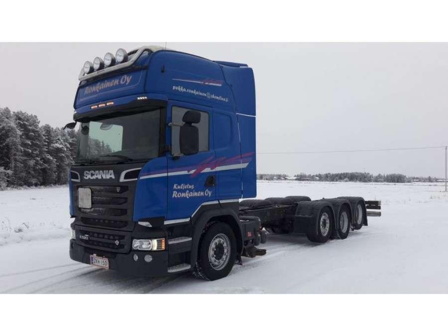 Scania R520 Lb8x2/4hnb Triple - 2014