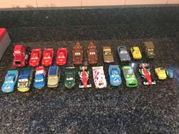 Disney Cars Garage and 23 Character Cars