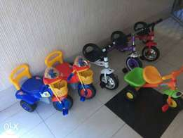 Tricycles more variety