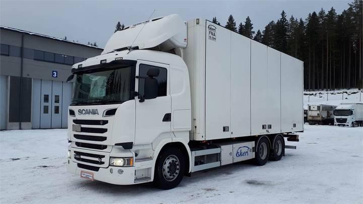 Scania R520 6x2 Kokosivunaukeava Fna - 2015