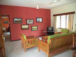 Executive 2 bedroom fully furnished Ocean View cottage in Nyali