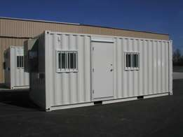 Office Containers Available Now 40ft and 20ft