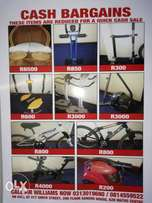 Lifestyle Equipment to Clear