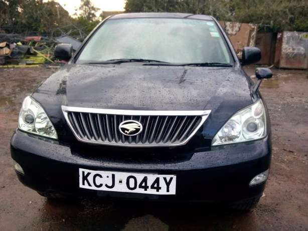 Black Toyota Harrier 2010 Hurlingham - image 1