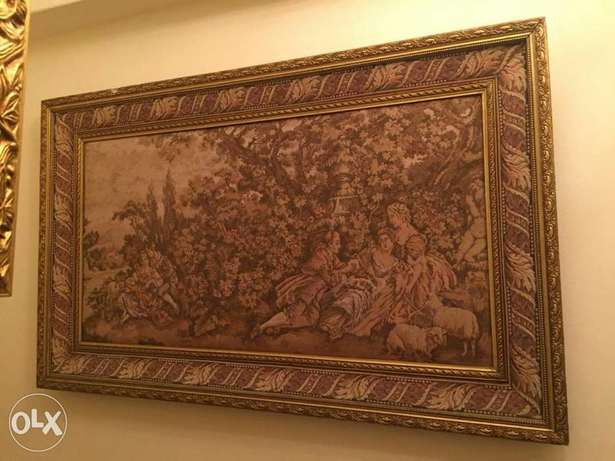 very old goblan antique height 90*140