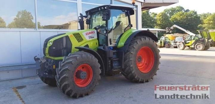 Claas axion 830 cmatic tier 4f - 2018