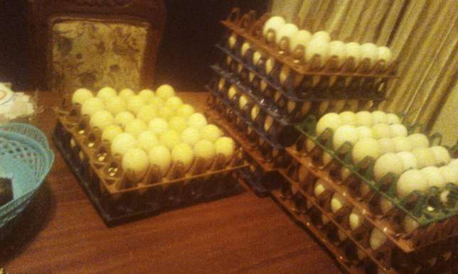 Kienyeji eggs for sale ksh500.15 trays every week Ruai - image 1