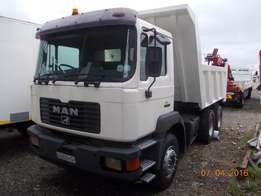 Man 10 Cube Tipper For sale