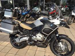 2013 BMW R1200GS Adventure with 3 x BMW aluminium boxes