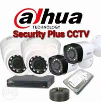 4 CCTV Cameras FULL HD Complete Package