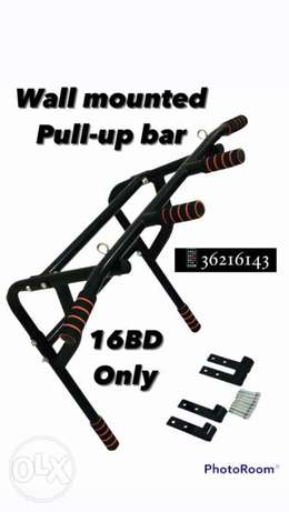 Wall Mounted Pull Up Bar (16 BD) only order now