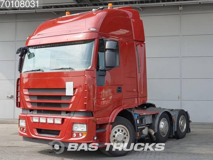 Iveco Stralis AS440S50 6X2 Lift+Lenkachse Euro 5 - 2007