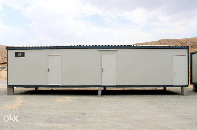 Sandwich Panel Portacabin with Toilet Blocks for Sale - 12m x 4m